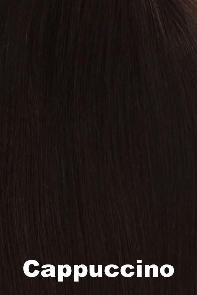 "Belle Tress Wigs - Remy Human Hair Lace Front Mono Top 14"" (#1000) Enhancer Belle Tress Cappuccino"
