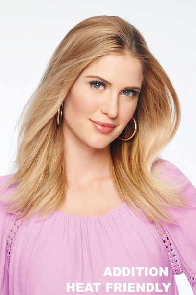 Christie Brinkley Wigs 4 pc Straight Extension Kit (#CB4PSE) Medium Golden Blonde - Main