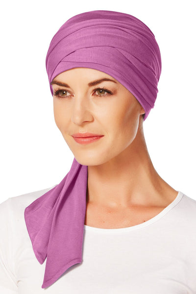 Christine Headwear - Mantra Long Scarf Fuchsia (0174)