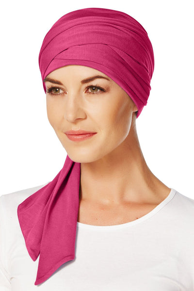 Christine Headwear - Mantra Long Scarf Cerise (0254)