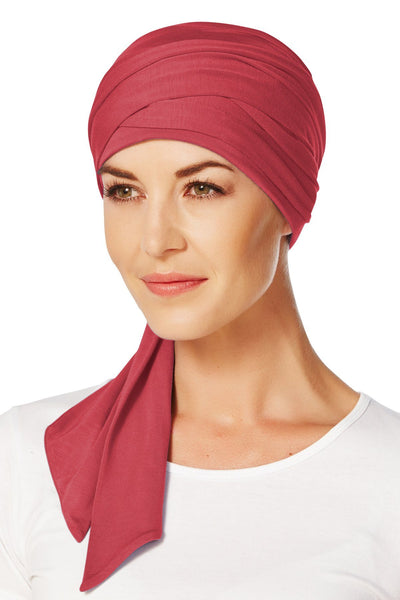 Christine Headwear - Mantra Long Scarf Red (0361)