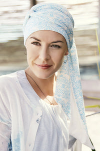 Christine Headwear - Mantra Long Printed Scarf