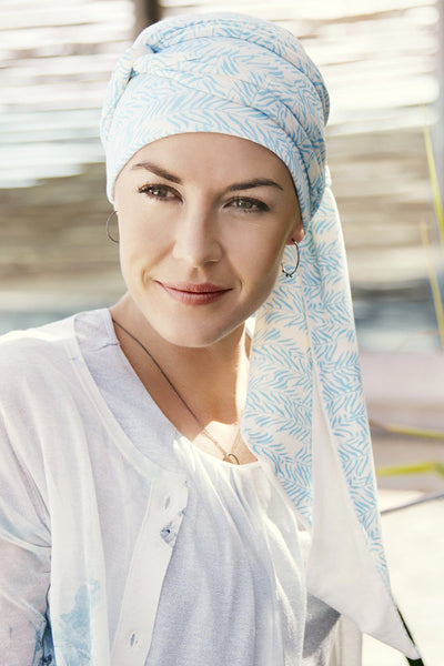 Christine Headwear - Mantra Long Printed Scarf Headwear Christine