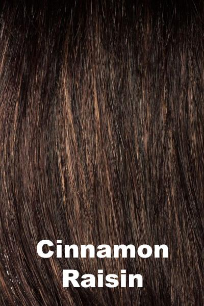 Envy Wigs - Dena - Human Hair Blend wig Envy Cinnamon Raisin Average