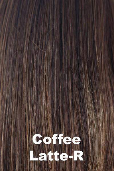 Orchid Wigs - Petite Portia (#5022) wig Orchid Coffee Latte-R Petite