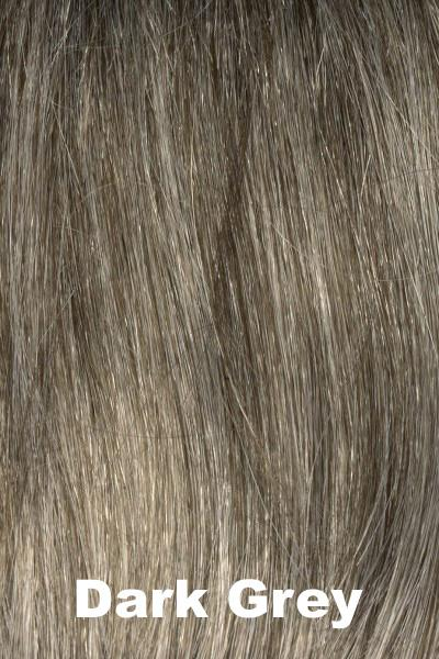 Envy Wigs -- Add On Top - Human Hair wig Envy Dark Grey