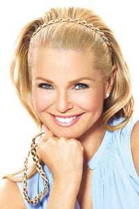 Christie Brinkley Additions: Double Braided Headband (CBDBHB) Front 1