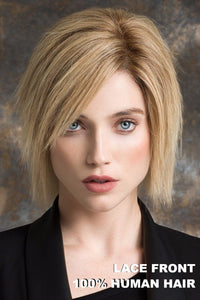 Ellen Wille Wig - Brilliance Plus Human Hair - Sandy Blonde Rooted - Front