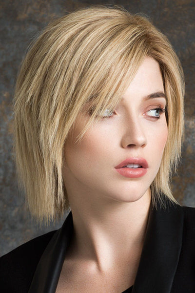 Ellen Wille Wig - Brilliance Plus Human Hair - Sandy Blonde Rooted - Front 2