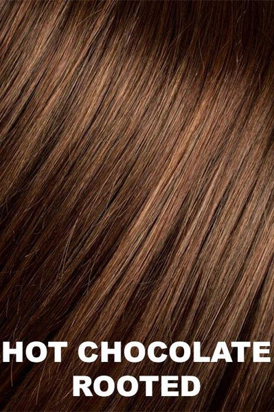 Ellen Wille Wigs - Beam wig Ellen Wille Hot Chocolate Rooted Petite-Average