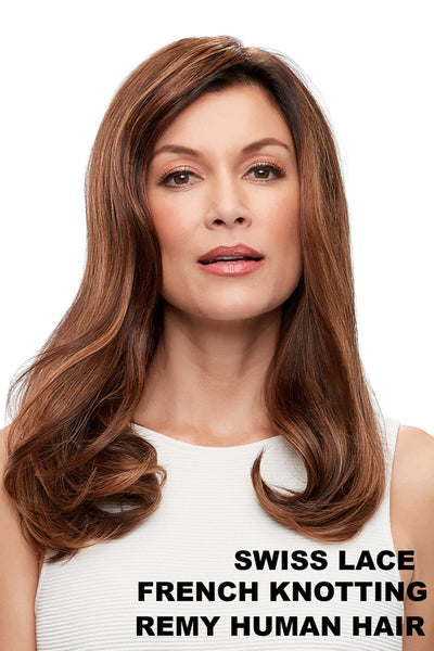"EasiHair - Top Form French 18"" (757/757A) front 2"