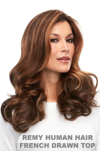 "Easihair - easiPart French 18"" Exclusive Colors (#741A) front 3"