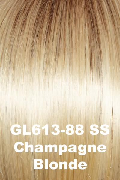 Gabor Wigs - True Demure wig Gabor SS Champagne Blonde (GL613-88SS) +$4.25 Petite-Average