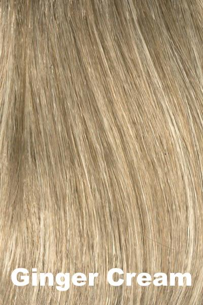 Envy Wigs - Dena - Human Hair Blend wig Envy Ginger Cream Average