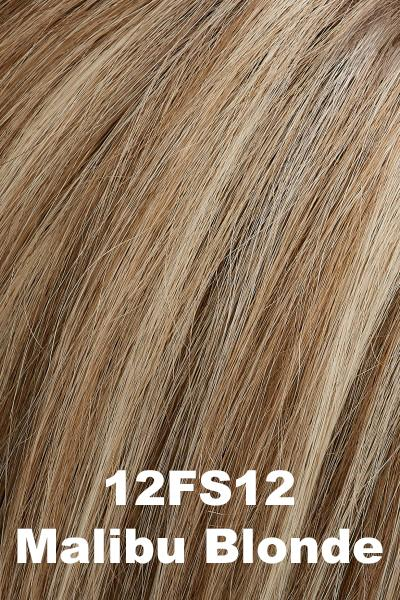 EasiHair - EasiPart XL 12 (#733A) Exclusive Colors - Remy Human Hair Volumizer EasiHair Malibu Blonde (12FS12)