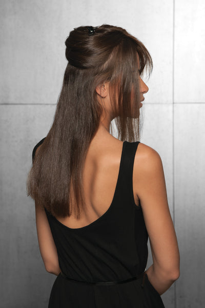 HairDO Human Hair Invisible Extension - back