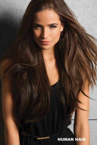 Hairdo Wigs Extensions - Human Hair Invisible Extension (#HHINVX) Enhancer Hairdo by Hair U Wear