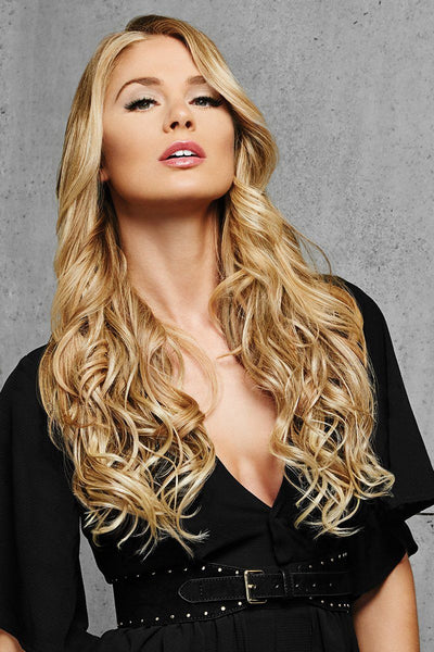 "HairDo Extensions - 22"" Curly Extensions - Front 3"