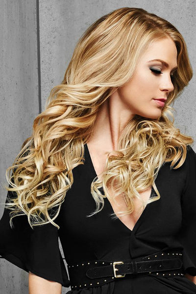 "HairDo Extensions - 22"" Curly Extensions - Front 4"