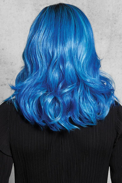 HairDo Wigs - Blue Waves - Back