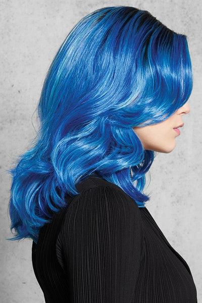 HairDo Wigs - Blue Waves - Side 1