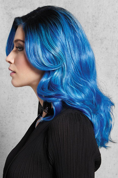 HairDo Wigs - Blue Waves - Side 2