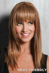 HairDo Extensions - Modern Fringe (#HXMDFR) Front 1
