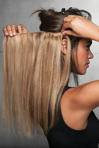 HairDo Extensions - 18 Inch Human Hair<br> Highlight Extension (#HX18HH)