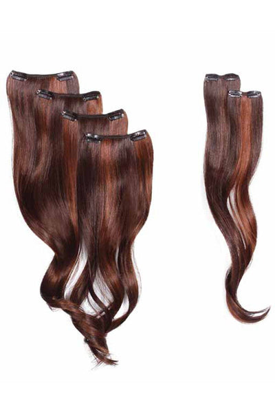 HairDo 18 Inch 8 Piece Wavy Extension Kit (#H8PCXW) 6