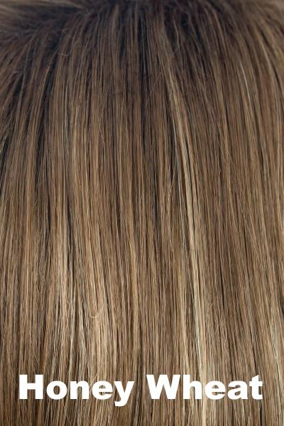 Orchid Wigs - Petite Portia (#5022) wig Orchid Honey Wheat Petite