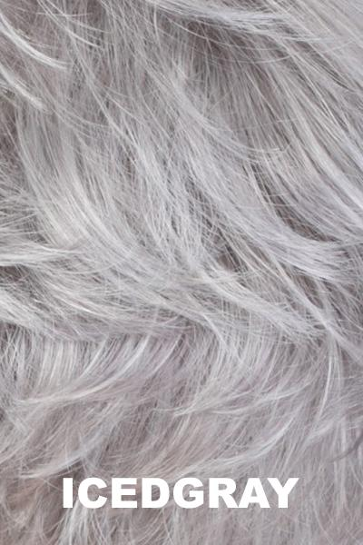 Estetica Wigs - True wig Estetica Iced Gray Average