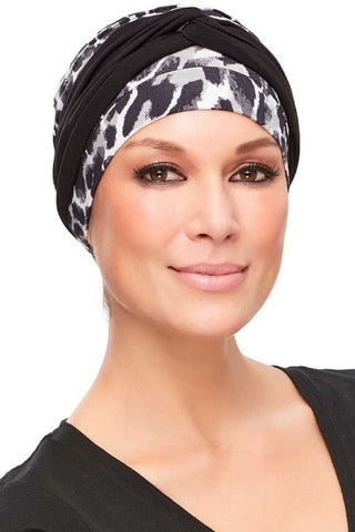 Head Wraps - Softie Accent (Solid Colors) by Jon Renau - Black - front