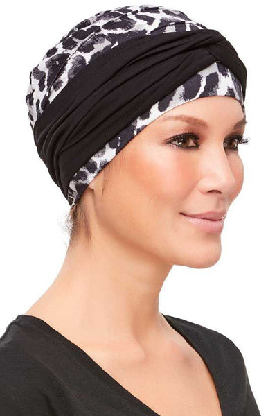 Head Wraps - Softie Accent (Solid Colors) by Jon Renau - Black - side