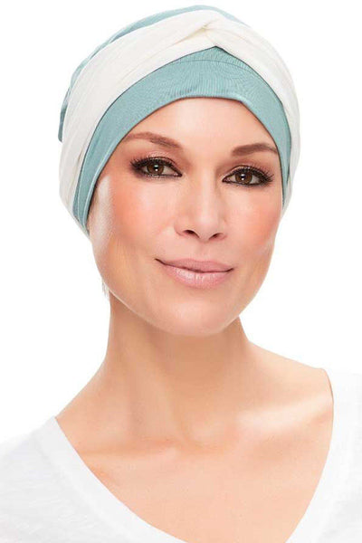 Head Wraps - Softie Accent (Solid Colors) by Jon Renau - White - front 3