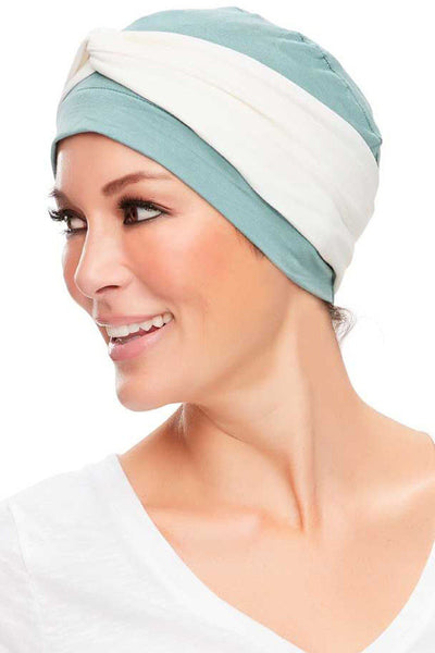 Head Wraps - Softie Accent (Solid Colors) by Jon Renau - White - side 2