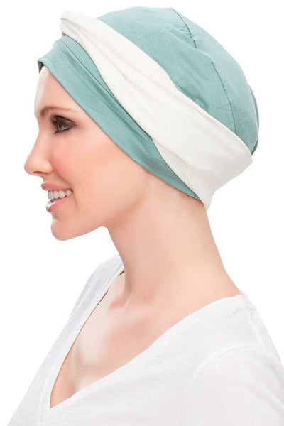 Head Wraps - Softie Accent (Solid Colors) by Jon Renau - White - side 3