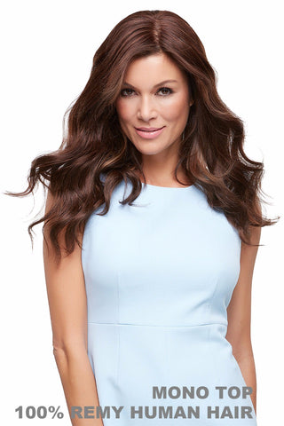 "Jon Renau Wigs - Top Style 18"" (5990A) Exclusive Colors Front 2"