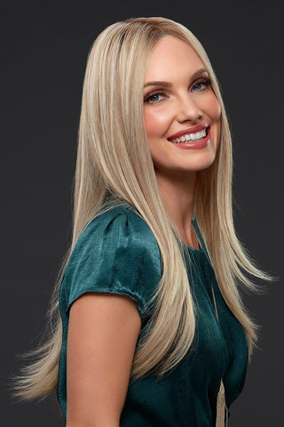 Jon Renau Wigs : Blake Human Hair Exclusive Colors (#726A) Palm Springs Blonde - main
