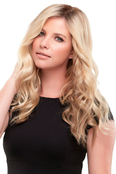 "Jon Renau Wigs - Top Wave 18"" Topper (#5993) front 2"