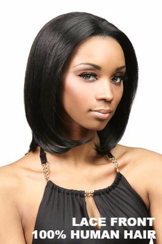 Motown Tress Wigs : Daisy Lace Front Human Hair front 1