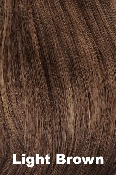 Envy Wigs - Taryn - Human Hair Blend wig Envy Light Brown Average