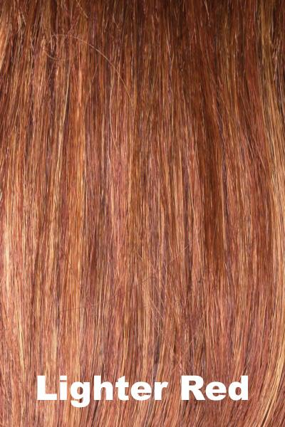 Envy Wigs - Dena - Human Hair Blend wig Envy Lighter Red Average