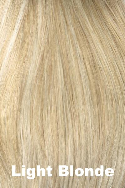 Envy Wigs -- Add On Left - HH/Synthetic Blend Enhancer Envy Light Blonde