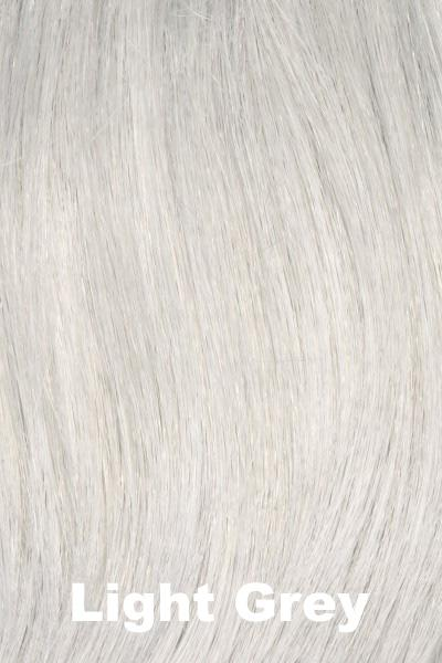 Envy Wigs - Dena - Human Hair Blend wig Envy Light Grey Average