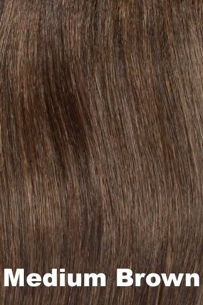 Envy Wigs -- Add On Top - Human Hair wig Envy Medium Brown