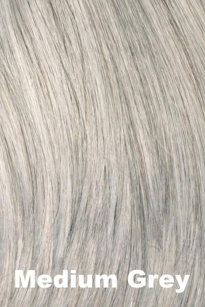 Envy Wigs -- Add On Top - Human Hair wig Envy Medium Grey