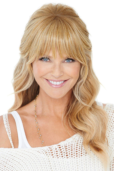 Christie Brinkley Additions: Natural Fringe Clip-in Bang (CBNTFR) 1
