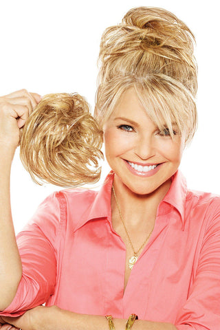 Christie Brinkley Additions: Natural Fringe Clip-in Bang (CBNTFR)  Front 1