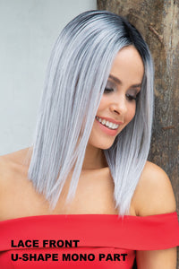 Orchid Wigs - Flawless (#4108) wig Orchid Silver Mist Average