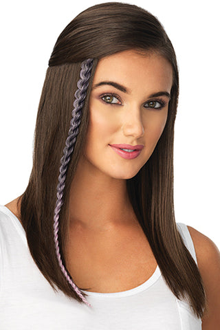 POP by Hairdo - Metallic Braid Extension front 1